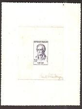 FRANCE 1957 - Wolfgand  Goethe - 35f  ,Yvert#1138 ,Scott# 863 - Artist Die Proof