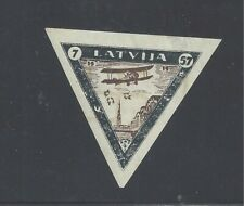 LATVIA 1933 AIR CHARITY 7-57s. IMPERF MINT NEVER HINGED  SG 241B