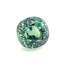1.35ct Bluish Green Sapphire VS Unheated, Untreated, Natural Gemstone *Video*