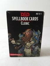 Dungeons & Dragons Spellbook Cards Cleric D&D