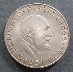 Austria, Commemorative Silver 25 Schilling, 1958, toned