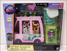 Littlest Pet Shop LPS SHUTTLE Bus Van - #92 BARKLEY WOOFLEY Pet  *NEW*