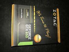 ZOTAC Video Card GeForce GTX 650 1GB 128Bit GDDR5 Graphics Cards for nVIDIA