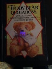 TEDDY BEAR QUOTATIONS (A COLLECTION) ILLUSTRATED BY WENDY TRINDER