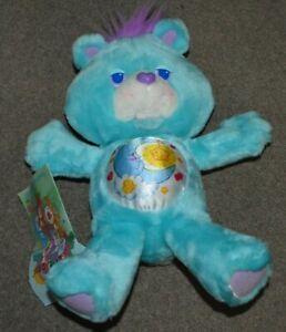 NEW Vtg 1991 Bedtime Bear Care Bears Plush Stuffed Animal Kenner Toy 12''