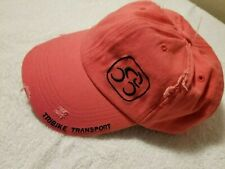Tribike Transport Hat Cap Pink New without Tags Triathlon Cycling