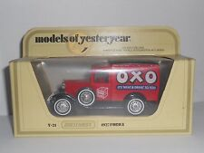 Matchbox Models Of Yesteryear Y21 1927 Ford A Oxo