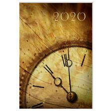 "Design Terminkalender / Buchkalender 2020 DIN A4 - 1 Tag=1 Seite - ""Vintage Uhr"""