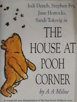 AA Milne-The House At Pooh Corner Audiobook Cassette.Judi Dench/Stephen Fry+