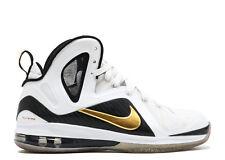 Nike LeBron 9 IX P.S. Elite White Gold Size 12.5. 516958-100 what the mvp kyrie