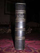 Traité de LA FRAUDE DANS LA VENTE DES MARCHANDISES par J. A. ROUX 1925