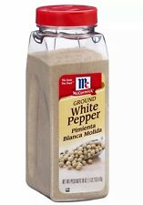 McCormick Ground White Pepper 18 oz Seasoning Spice