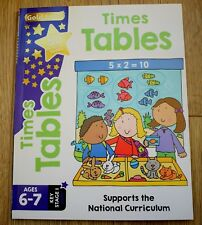 Gold Stars Times Tables Ages 6-7 Key Stage 1: Supports the National Curriculum by Nina Filipek, Betty Root (Paperback, 2017)