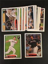 2012 Topps Miami Marlins Team Set With Update 30 Cards