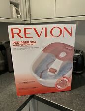 Revlon Pediprep Foot Spa and Pedicure Set with 9 Accessories  - Pink