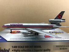 "Gemini Jets 1:400 Hawaiian Airlines DC-10-30 N140AA ""CHROME VERSION"""