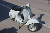 Vespa V50 1. Serie Rundlicht 1964 Originale