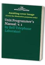 Unix time-sharing system: Unix programmer's manual