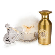 Shelley Kyle Signature Body and Linen Powder Gift Set with Large Puff and Crysta