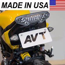 AVT 2014-2016 Yamaha FZ-09 Fender Eliminator NI Kit - FLUSH LED Turn Signals