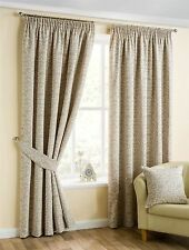 Floral 100% Cotton Pleated Drapes