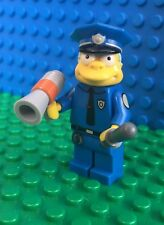 Lego 71005 The Simpsons CHIEF CLANSY WIGGUM Police Minifig Minifigure Serie 1