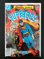 ADVENTURE COMICS PRESENTS: SUPERBOY #457 DC COMICS 1978 VF+ NEWSSTAND EDITION