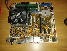 Asus M2N68-LA Motherboard With Phenom 9550 Quad Core CPU, 4GB Ram