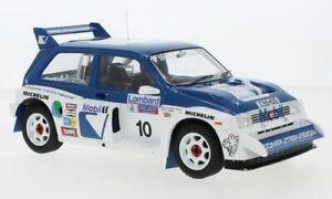 1:18th MG METRO 6R4 model rally car Wilson Pond Llewellin Short 18RMC068A B or C