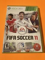 🔥 MICROSOFT XBOX 360  - 💯 COMPLETE WORKING GAME 🔥 FIFA SOCCER 2011 🔥