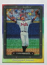 1998 Topps GALLERY Chipper Jones *EXPRESSIONISTS* Card #95 HOF! Braves!