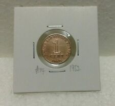 MALAYA & BRITISH BORNEO 1cent coin 1962  High Grade #14