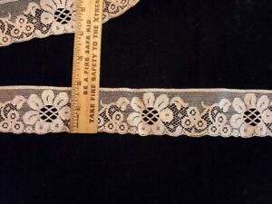 Vintage/Antique  Lace, Brown 10 yards