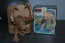 Star Wars Vintage Lili Ledy Rancor Monster + original ROTJ Box von 1983 Mexico