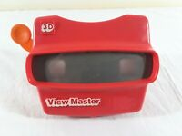 Vintage View-Master 3D Dimensional Viewer Red with Orange Lever - Made in USA