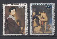 Dahomey 1967 Ingres Paintings Sc C49-C50  mint never hinged