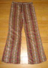 VINTAGE 70s Women's Wrangler Velvet/Cord Blue Bell Jeans Size Size 10