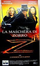 LA MASCHERA DI ZORRO Film Videocassetta VHS COLUMBIA TRISTAR 1998 Azione