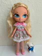 Girlz Girl Bratz Kidz Kid Cloe Doll Blonde Hair Blue Eyes Clothes & Shoes Pet