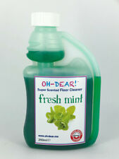 FRESH MINT Scented Floor Cleaner 250ml (25ml Dose) Gently Scented Floors
