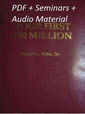 Your First 100 Million by Dan Pena PDF 2nd Edit + audio materials + QLA seminars