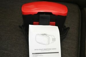 """Virtual Reality Smartphone Headset Fits iPhone, Samsung & Other 6"""" Screens ONN"""