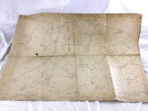 1910 Antique Map of East Sussex High Cross Estate Framfield Wealden District