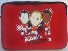 """Housse protection Red Devils Manchester United néoprène ordinateur portable 15"""""""