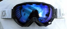 New $110 Scott Witness Black White Womens winter Snow Ski Goggles Smith Ladies