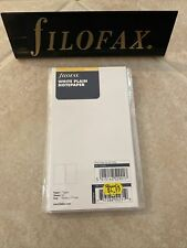 New Listingfilofax Plain White Notepaper Personal Size 132405