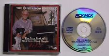 Cliff Adams Singers - The Very Best of Sing Something Simple Vol. 3 CD RARE