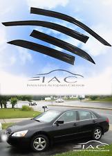 For Honda Accord (U.S) 2003-2007 4 DOOR Sedan MUGEN 3D STYLE WINDOW VISOR SHADE