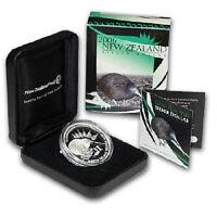 NEUESEELAND - 2006 - Silber $1 PP Coin-  1 OZ  Brown Kiwi