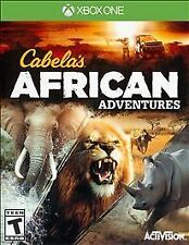 New Cabela's African Adventures Microsoft Xbox One Sealed Hunting Video game